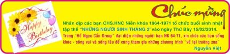 Chuc mung SN